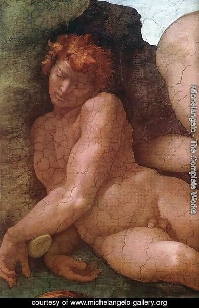 Creation of Eve (detail-1) 1509-10