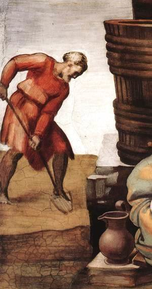 Drunkenness of Noah (detail-1) 1509