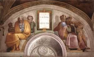 Michelangelo - Jacob - Joseph 1511-12