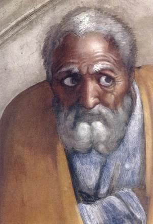 Michelangelo - Jacob - Joseph (detail-1) 1511-12