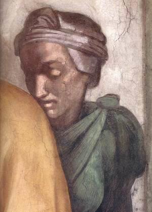 Michelangelo - Jacob - Joseph (detail-2) 1511-12