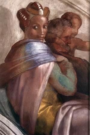 Michelangelo - Jacob - Joseph (detail-3) 1511-12