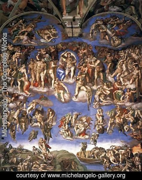 Michelangelo - Last Judgment (1) 1537-41