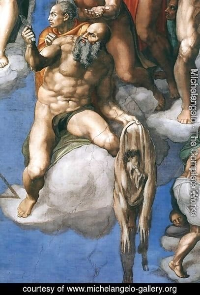 Michelangelo - Last Judgment (detail-3) 1537-41