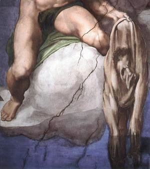 Michelangelo - Last Judgment (detail-4) 1537-41