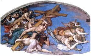 Michelangelo - Last Judgment (detail-10) 1537-41