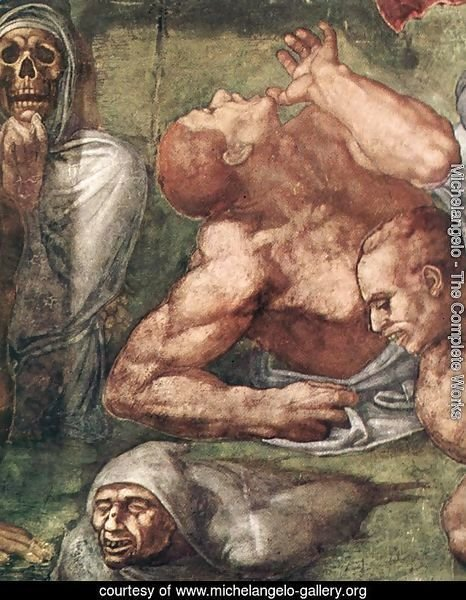 Last Judgment (detail-16) 1537-41
