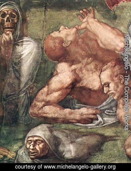 Michelangelo - Last Judgment (detail-16) 1537-41