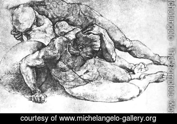 Michelangelo - Male Figures 1530s