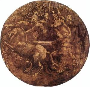 Michelangelo - Medallion (1) 1511