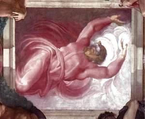 Michelangelo - Separation of Light from Darkness 1511