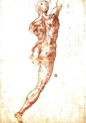 Michelangelo - Study for a Nude 1504