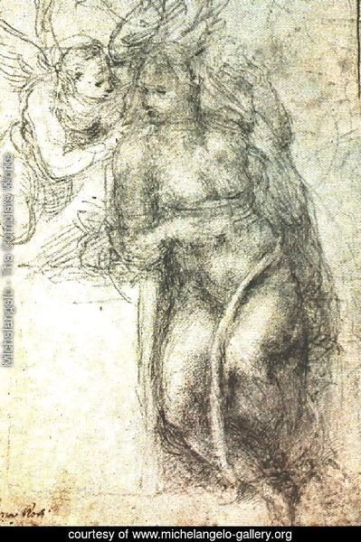 Study for an Annunciation 1547