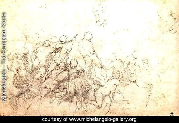 Study for the Battle of Cascina 1505-06