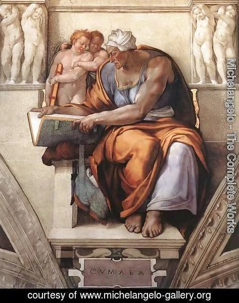 Michelangelo - The Cumaean Sibyl 1510