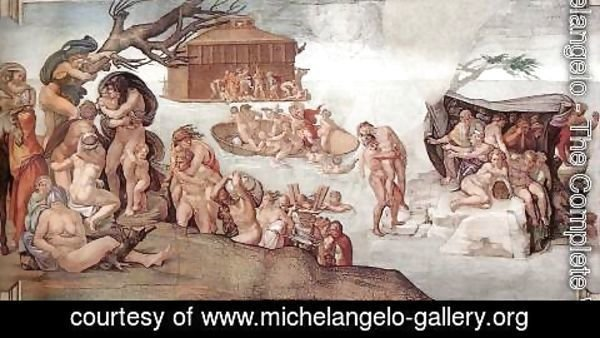 Michelangelo - The Deluge 1508-09