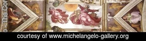 Michelangelo - The eighth bay of the ceiling 1508-12