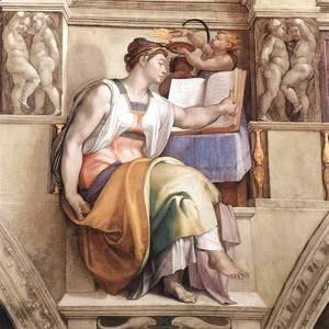 Michelangelo - The Erythraean Sibyl 1509