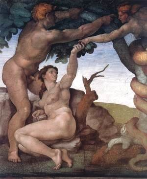 Michelangelo - The Fall -1 1509-10