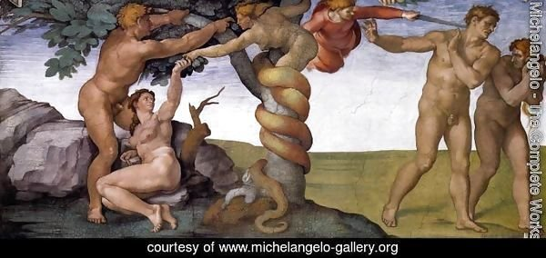 The Fall and Expulsion from Garden of Eden 1509-10