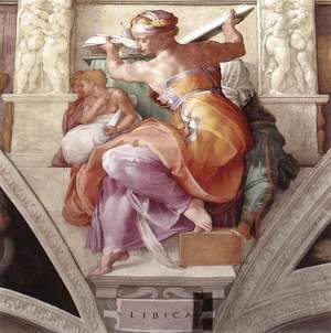 Michelangelo - The Libyan Sibyl 1511