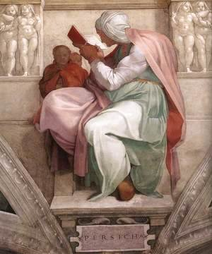 Michelangelo - The Persian Sibyl 1511
