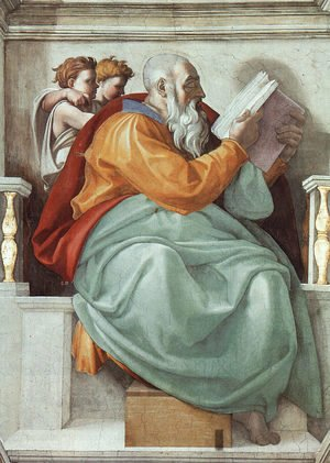 Michelangelo - The Prophet Zachariah  1508-12