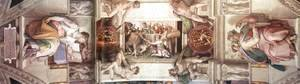 Michelangelo - The seventh bay of the ceiling 1508-12
