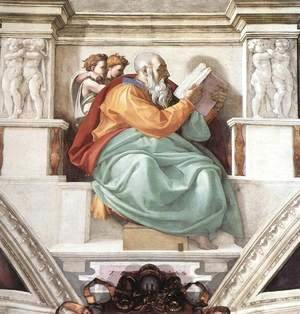 Michelangelo - Zechariah 1509